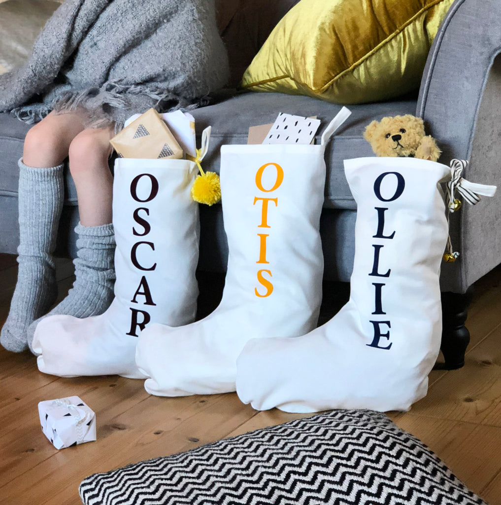 Personalised Flock Name Stocking