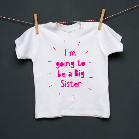 Personalised Toddler Announcement T Shirt