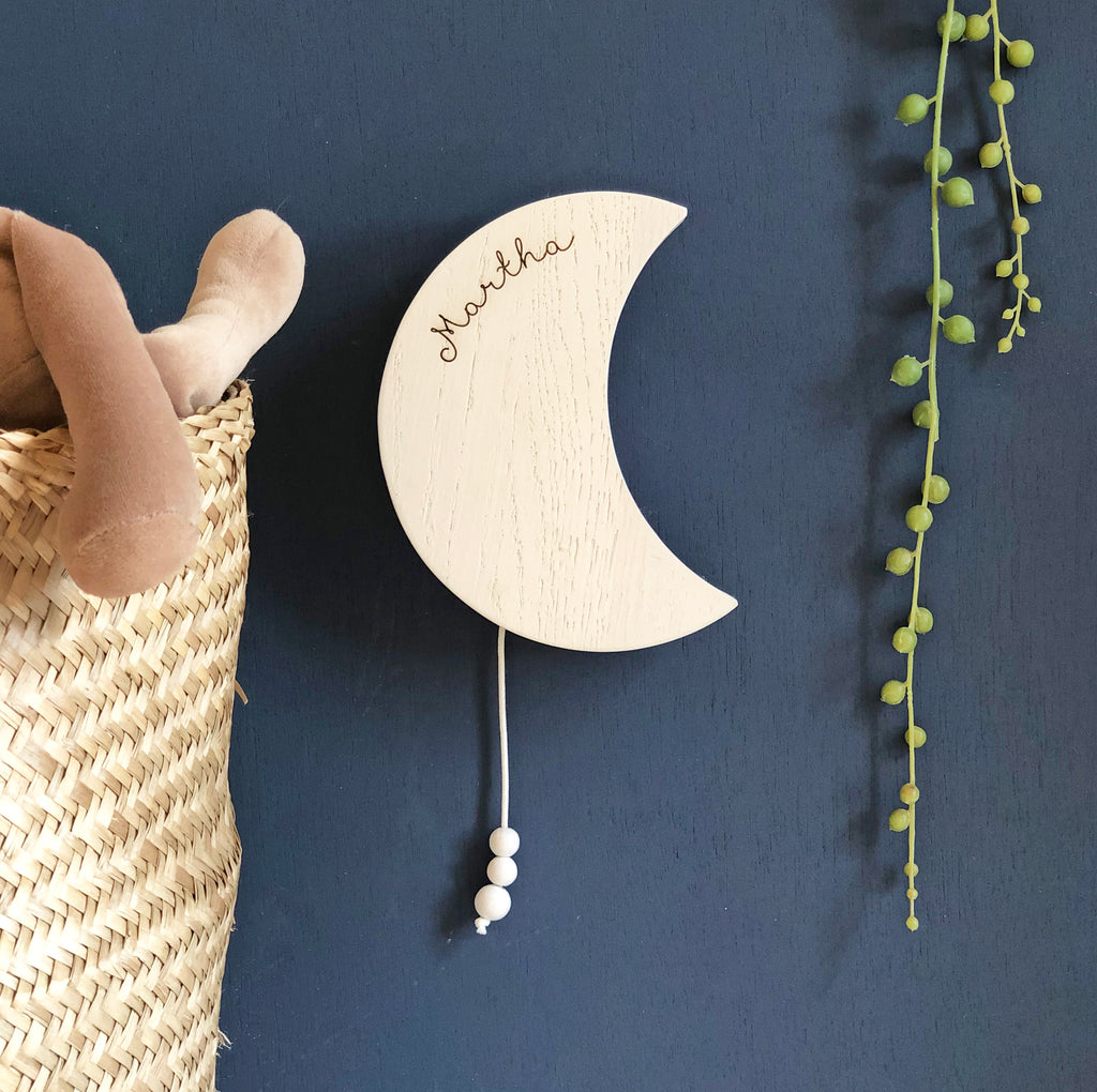 Personalised Moon Musical Wall Hanging