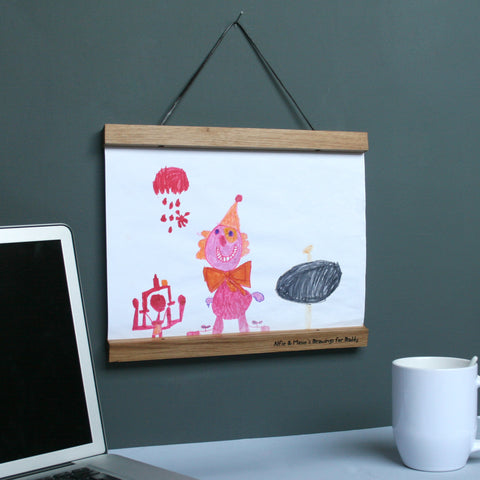Personalised Drawing Picture Hanger
