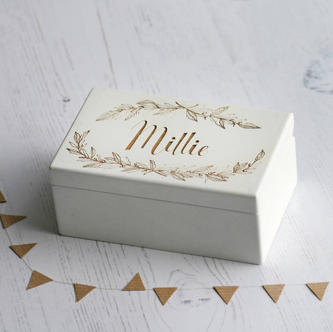 Keepsake Name Music Box