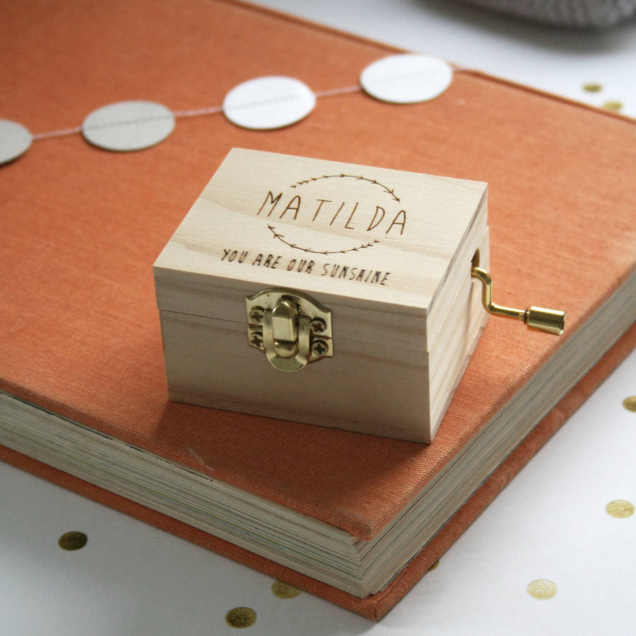Personalised Music Box