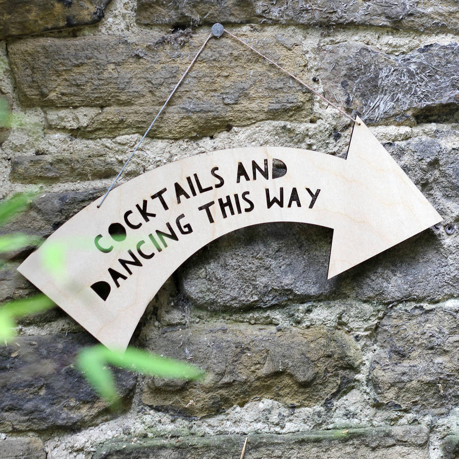 Personalised Wedding Wooden Sign