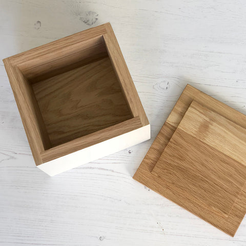 Bespoke Oak Wedding Day Box