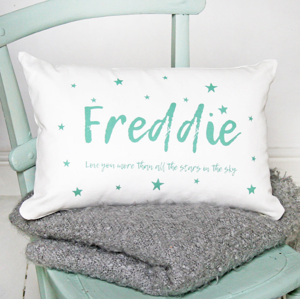 Personalised Star Name Cushion 2