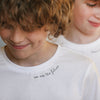 Kids Personalised White T-shirt