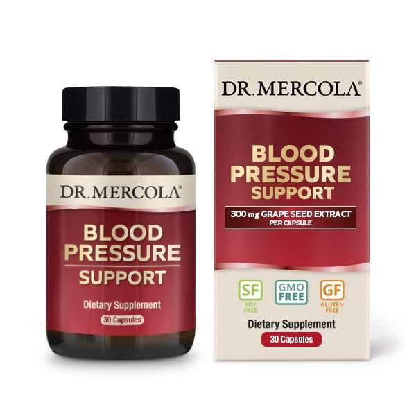 Blood Pressure Support | Dr Mercola | 30 Capsules