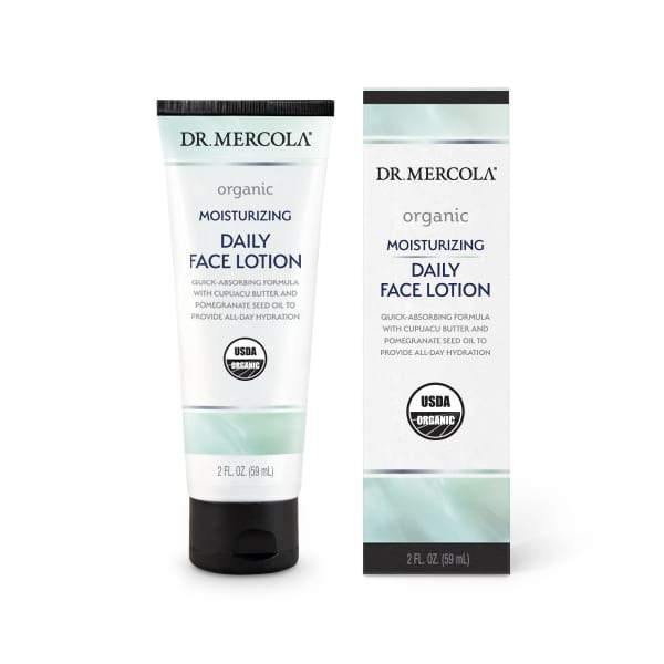 Organic Moisturizing Face Lotion | Dr Mercola | 59 ml - Oceans Alive Health
