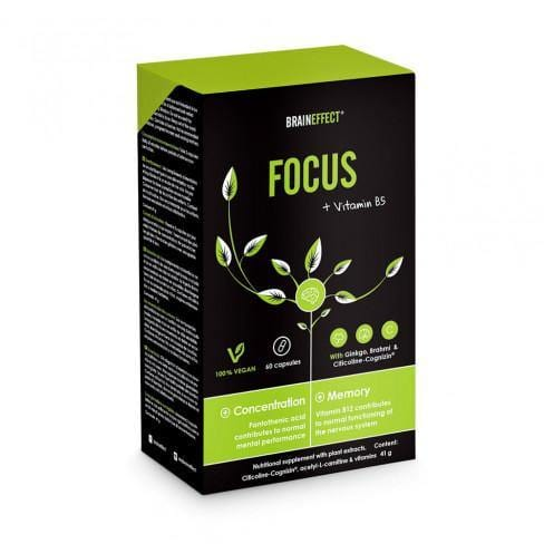 FOCUS with Vitamin B5 | BRAINEFFECT | 41g