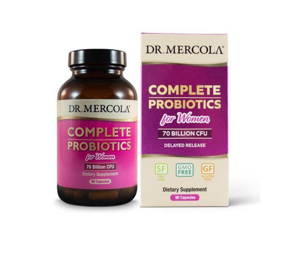 Complete Probiotics for Women | Dr Mercola | 90 Capsules