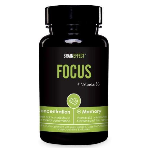 FOCUS with Vitamin B5 | BRAINEFFECT | 41g - Oceans Alive Health