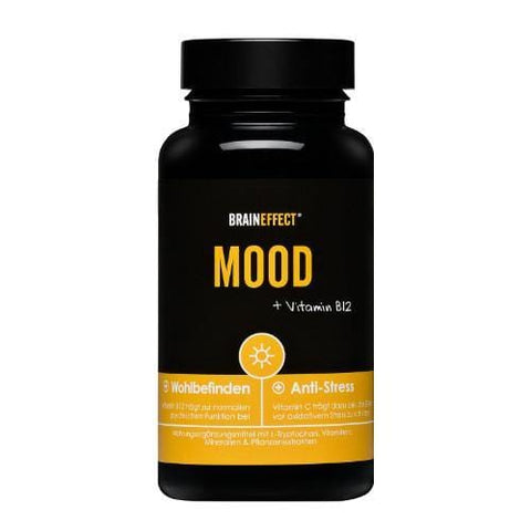 MOOD with Vitamin B12 | BRAINEFFECT | 90 Capsules - Oceans Alive Health