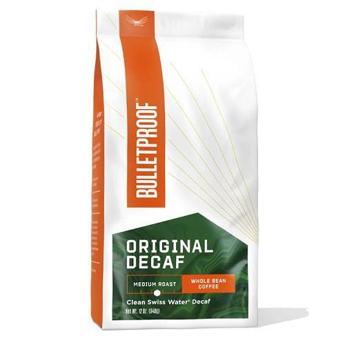 The Original Whole Bean DECAF Coffee | Bulletproof | 340g - Oceans Alive Health