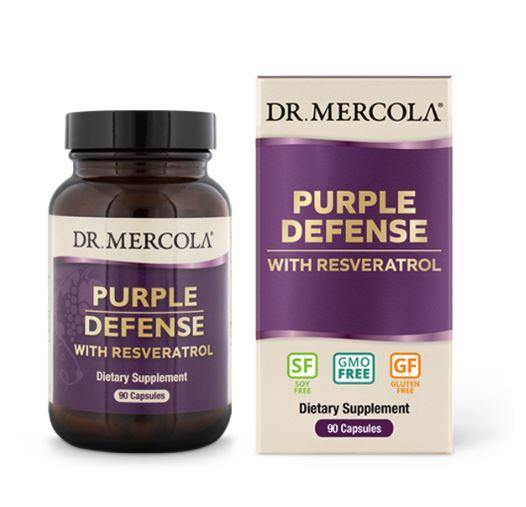 Purple Defense | Dr Mercola | 90 Capsules box