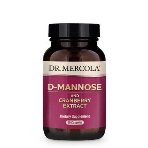 D-Mannose and Cranberry Extract | Dr Mercola | 60 Capsules