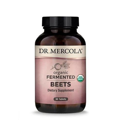 Fermented Beets | Dr Mercola | 60 Tablets - Oceans Alive Health