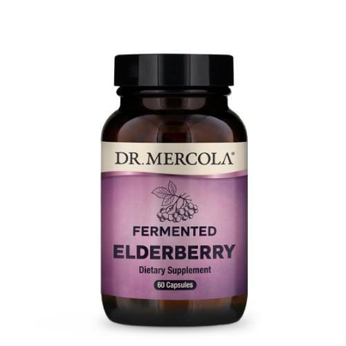 Fermented Elderberry | Dr Mercola | 60 Capsules