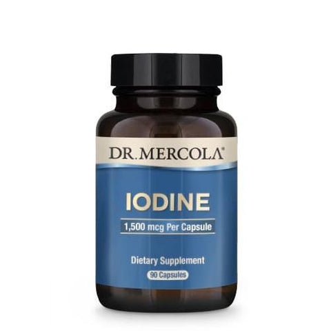 Iodine 1.5mg | Dr Mercola | 90 Capsules - Oceans Alive Health