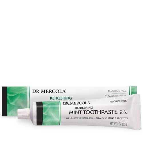 Toothpaste With Tulsi | Dr Mercola | Cool Mint | 85g