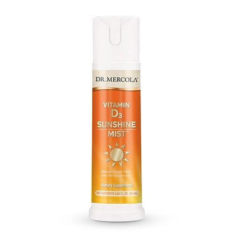 Vitamin D3 Spray (5,000 IU) | Dr Mercola | 36 Servings