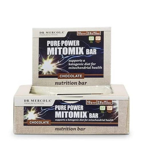 12 x Organic Mitomix™ Bars | Double Chocolate | Dr Mercola - Oceans Alive Health