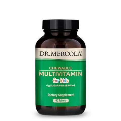 Chewable Multivitamin for Kids | Dr Mercola Children's | 60 Tablets