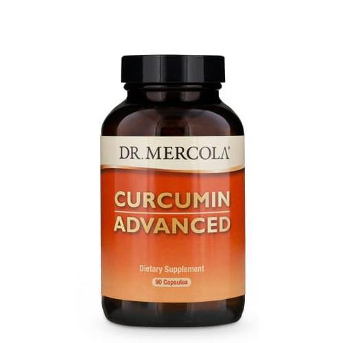 Curcumin Advanced 500mg | Dr Mercola | 90 Capsules