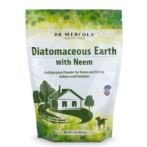 Diatomaceous Earth with Neem | Dr Mercola | 454g