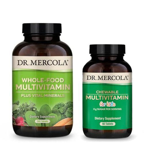 Family Multivitamin Bundle | Dr Mercola - Oceans Alive Health