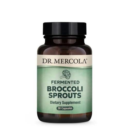 Fermented Broccoli Sprouts | Dr Mercola | 30 Capsules