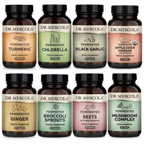 Dr Mercola's Fermented Products Bundle | over 7% off