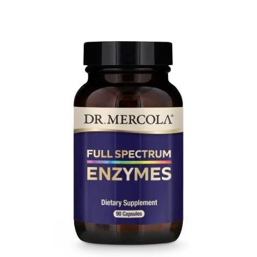 Full Spectrum Enzymes | Dr Mercola | 90 Capsules