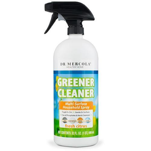Greener Cleaner Multi-Surface Household Spray | Dr Mercola | Fresh Citrus