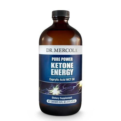Ketone Energy MCT Oil | Dr Mercola | 473ml - Oceans Alive Health