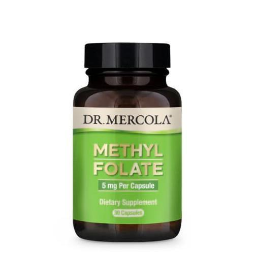 Methyl Folate 5mg | Dr Mercola | 30 Capsules - Oceans Alive Health