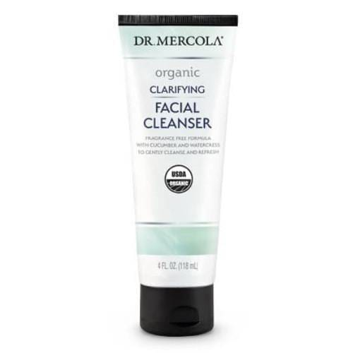 Organic Clarifying Facial Cleanser | Dr Mercola | 118 ml - Oceans Alive Health