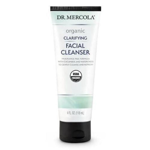 Organic Clarifying Facial Cleanser | Dr Mercola | 118 ml