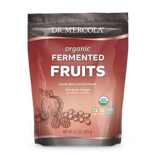 Organic Fermented Fruits | Dr Mercola | 270g (90 Servings)
