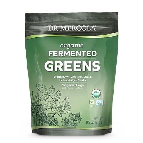 Organic Fermented Greens | Dr Mercola | 270g (90 Servings)