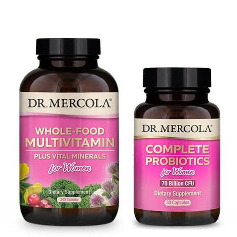 Women's Health Bundle | Dr Mercola | 8% off - Oceans Alive Health