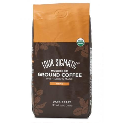 Mushroom Coffee with Lion's Mane | Four Sigmatic | 340g - Oceans Alive Health