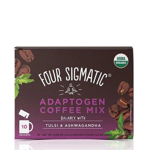 Adaptogen Coffee Mix with Tulsi & Ashwagandha | Four Sigmatic | 10 packets