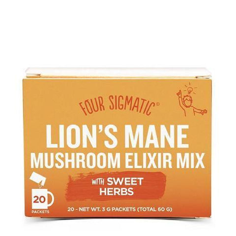 Lion's Mane Elixir | Four Sigmatic | 20 packets