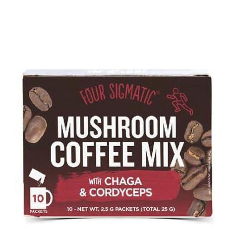Mushroom Coffee with Cordyceps | Four Sigmatic | 10 packets - Oceans Alive Health