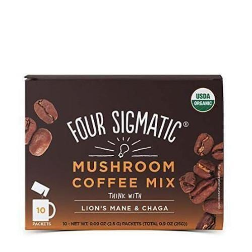 Mushroom Coffee with Lion's Mane | Four Sigmatic | 10 packets