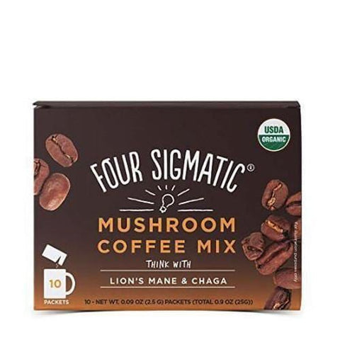 Mushroom Coffee with Lion's Mane | Four Sigmatic | 10 packets - Oceans Alive Health
