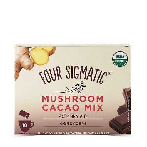 Mushroom Hot Cacao with Cordyceps | Four Sigmatic | 10 packets - Oceans Alive Health