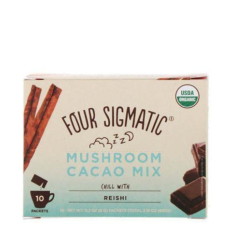 Mushroom Hot Cacao with Reishi | Four Sigmatic | 10 packets - Oceans Alive Health