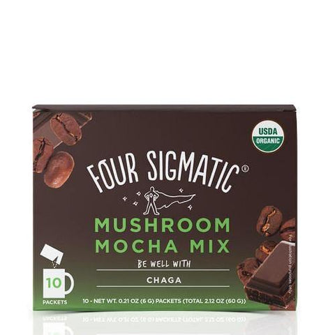 Mushroom Mocha Mix with Chaga | Four Sigmatic | 10 packets