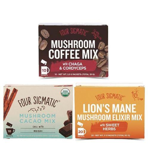 Mushrooms Taster Bundle | Four Sigmatic | over 8% off